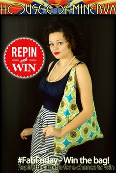 #FabFriday GiveAway - It's so simple to enter. Repin to Win!