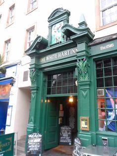 The White Hart Inn in Edinburgh's Grassmarket - the oldest pub in Edinburgh dating from 1516.