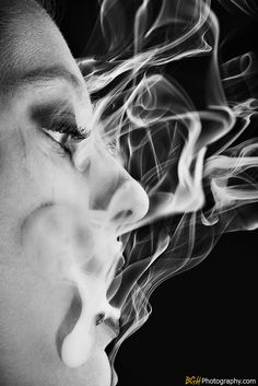 I absolutely cannot stand cigarettes, but I'm obsessed with the smoke.