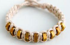 Macramé Bracelet | An elegant but inexpensive bracelet you can make.  #DiyReady www.diyready.com