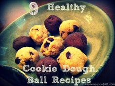 9 Healthy Cookie Dough Ball Recipes