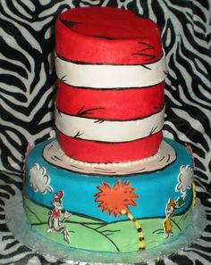 Seuss #cake #birthday #party