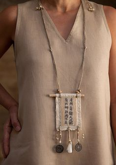 AMALTHEE CREATIONS. Love these necklaces!