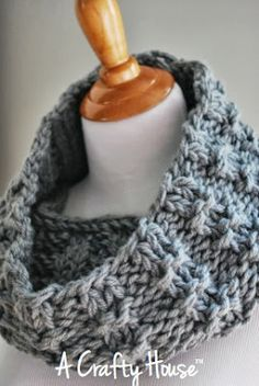 A Crafty House | Knit and Crochet Patterns and Accessories: A Crafty House Free Original Pattern: Mid-December Cowl