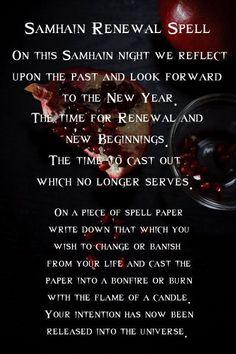 samhain renewal spell