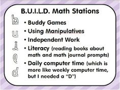 math workshop ideas