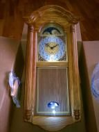 Price $449.00 My husband chose this clock as his gift from the company that he is soon to retire from. We dont really think that we will use this thou...