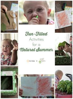 Fun Natural Summer Activities To Fight Summer Boredome + Giveaway