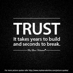 Sad Quotes | Betrayal friendship quotes - Trust it takes years