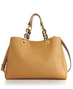 MICHAEL Michael Kors Handbag, Cynthia Medium Satchel - MICHAEL Michael Kors - Handbags & Accessories - Macy's