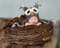 Large Newborn Nest-Newborn Photography prop- Prop-Infant Photo Prop-Owl Nest-Newborn bird nest prop