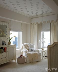 love the ceiling.  Ivanka Trump NYC Apartment; Kelly Behun