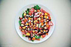summer salads, watermelon