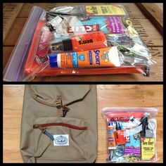 DIY first aid / wilderness survival kit