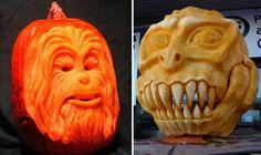 100 Halloween Pumpkin Carving Ideas | DigsDigs