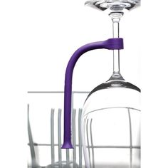 Washing your wine glasses can be risky business, especially when you're using your dishwasher. Save your stemware with Tether, a flexible plastic rod that stabilizes your stemware as it goes through the cycle.