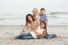 beach family photo session - Google Search