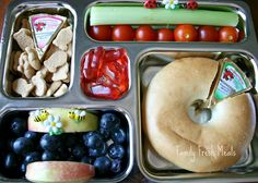 The Laughing Cow Cream Cheese Spread & Thomas Bagel Thins!  Easy Breakfast, Lunch or Snack!