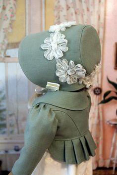 Regency Spencer Jacket Bonnet and Dress for by BabiesArtUs on Etsy, $105.00
