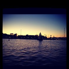 Marina del Rey coming in on a Sunset.