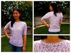 Cation Designs: Free Sewing Pattern: Dolman Sleeve Top / T-Shirt from: http://cationdesigns.blogspot.co.uk/2012/08/free-sewing-pattern-dolman-sleeve-top.html