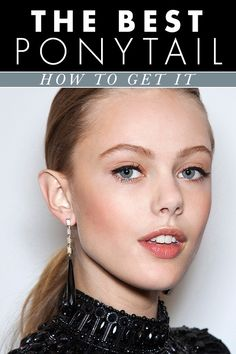 how to get the best ponytail