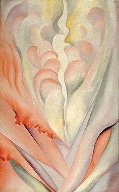 Georgia O'Keeffe - Flower Abstraction