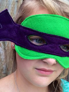 TMNT Inspired Donatello Halloween Costume Mask