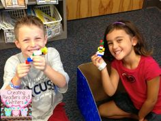 """Teach """"active listening"""" with this fun back-to-school community-building activity. And what kid doesn't LOVE Legos? {Creating Readers and Writers Blog Post}"""