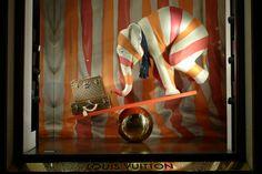 Louis Vuitton Circus windows, Paris