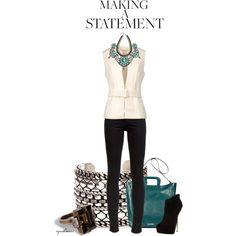 """Making A Statement"" by cynthia335 on Polyvore"