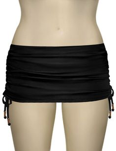 Just one of many new skirted bottoms coming in - skirted swimsuits aren't just for grannies anymore. So cute! -Linda
