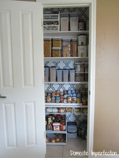 Great Pantry Organization | Domestic Imperfection