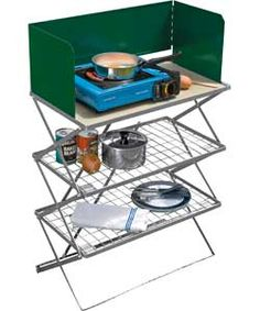 Camping Folding Kitchen Stand.
