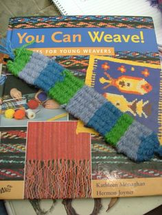 The Napping House: Straw Weaving - a tutorial.  Using drinking straws, yarn and tape, children as young as 3 can make bookmarks, belts and more!