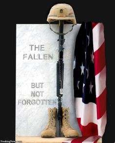 So many have died for us.