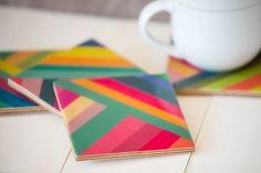 Stripes coasters