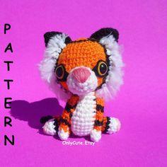 Amigurumi Tiger Pattern PDF by OnlyCute on Etsy, $6.00