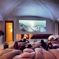 TV viewing room