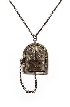 Lock Door Necklace