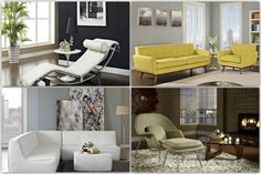 Modern + contemporary furniture - 5 Simple Interior Designs Tips To Transform Your Home