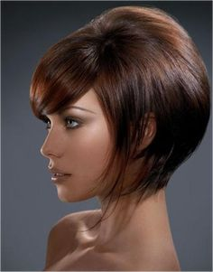 Corte de Pelo para rostro redondo. short hair, hair colors, bob cuts, bob hairstyles, bangs, beauty, hair trends, short bobs, bob haircuts