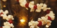 How to String Popcorn and Cranberries...Will and I did this last year for Christmas and we just may do it again!  It was so fun!