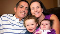 Sean and his family - cholangiocarcinoma