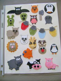 More Stampin up Owl punch ideas