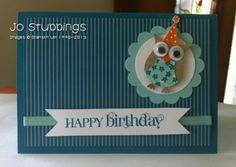 Hubby's Birthday 2013 - Circle, Curly Cute,