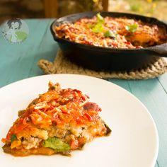 Paleo Deep Dish Pizza/ Pizza Casserole