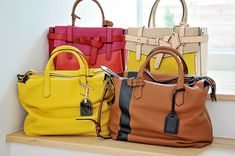 Purses-love the silhouettes, would pick some different colors, though.