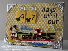 Countdown to Disney Cruise I am totally making this!