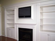 Custom Bookcases Around Fireplace - Bing Images